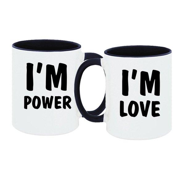 Парные чашки Энергия и Любовь