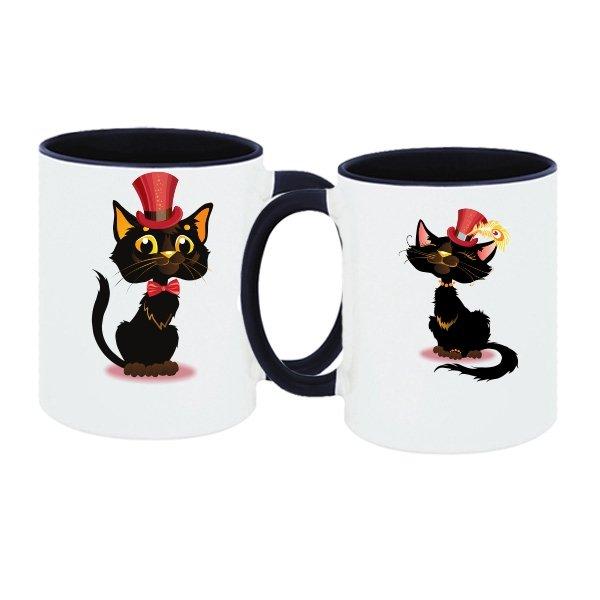 Парные чашки Коты