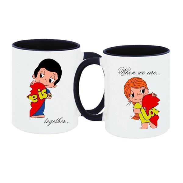 Парные чашки Когда мы Вместе