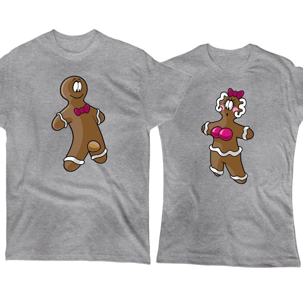 Парные футболки Печеньки