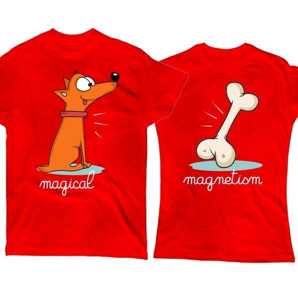 Парные футболки Магнетизм
