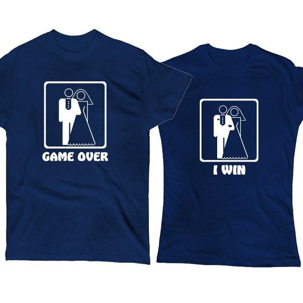 Парные футболки Game Over I Win