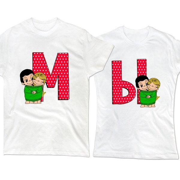 Парные футболки МЫ Love is