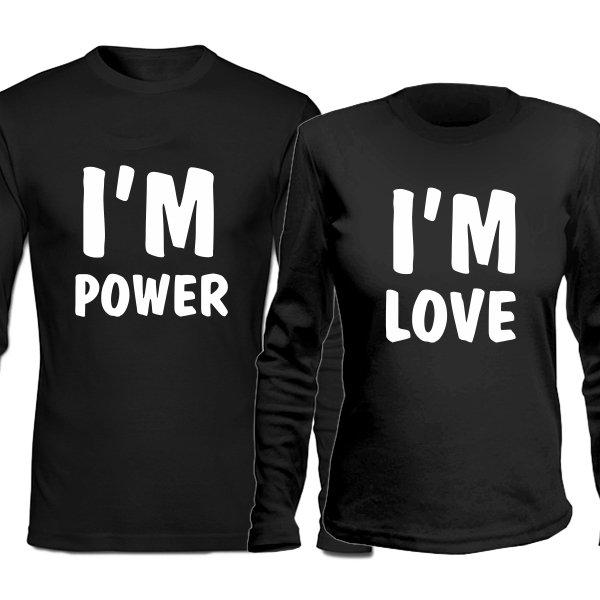 Парные лонгсливы Энергия и Любовь