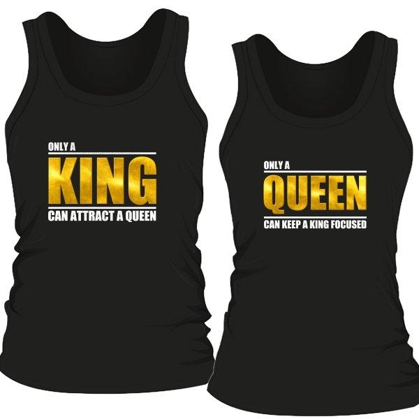 Парные майки Только король и королева могут привлечь друг друга
