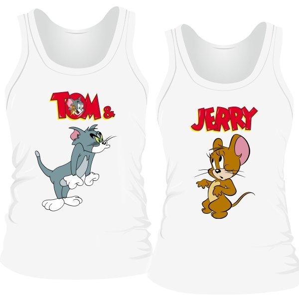 Парные майки Том и Джерри