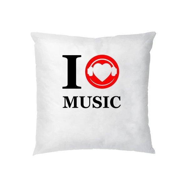 Подушка Я люблю Музыку