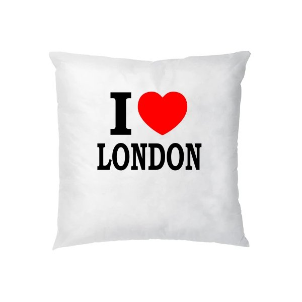 Подушка Я люблю Лондон