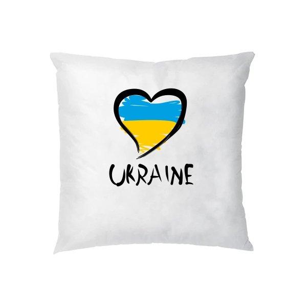 Подушка Сердце Ukraine