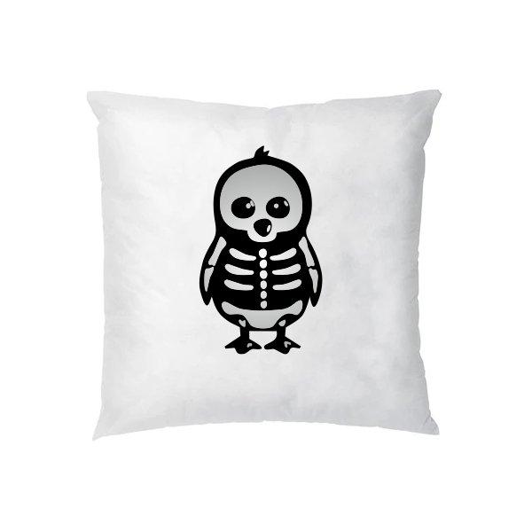 Подушка Скелет Пингвина
