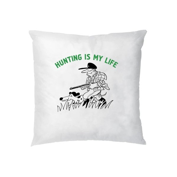 Подушка Охота моя жизнь