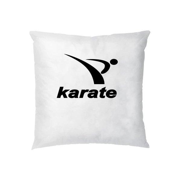Подушка Karate лого