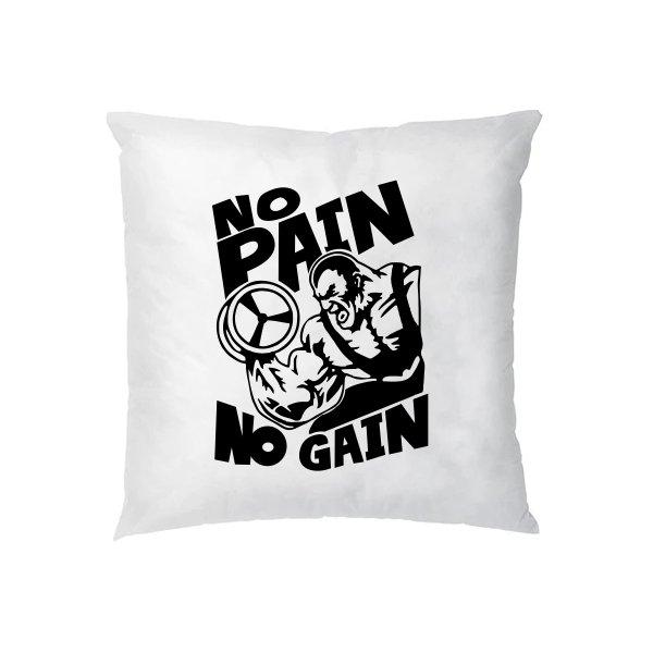 Подушка No Pain No Gain