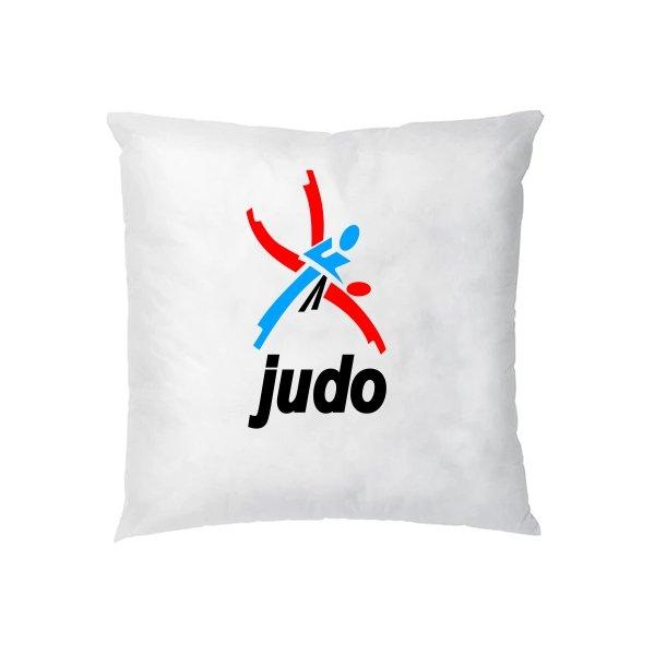 Подушка Логотип Дзюдо