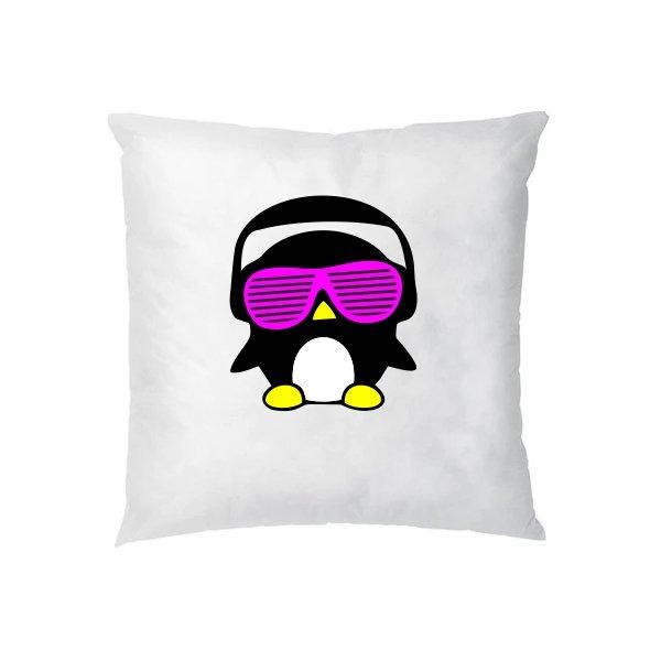 Подушка Кислотный Пингвин