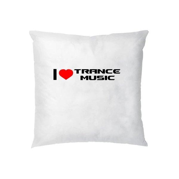 Подушка I Love Trance Music