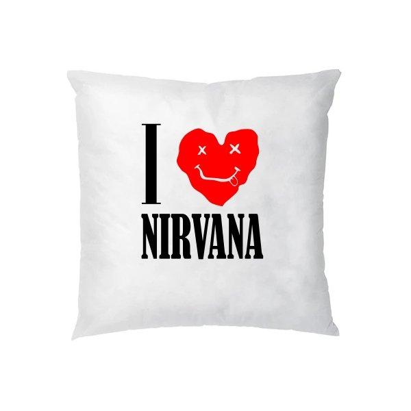 Подушка I Love Nirvana