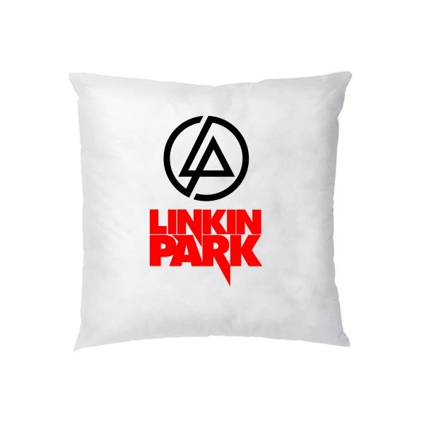 Подушка с надписью Линкин Парк