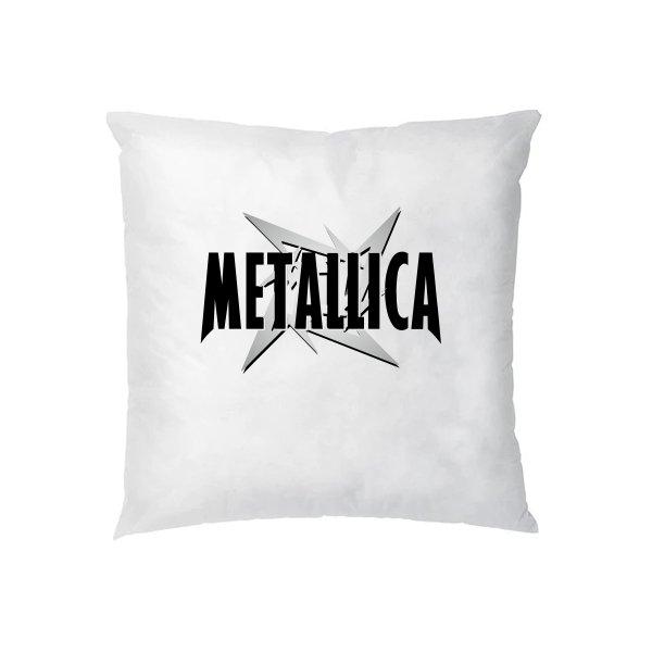 Подушка Metallica logo