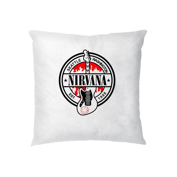 Подушка с группой Нирвана