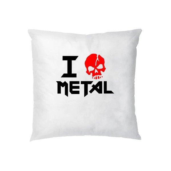 Подушка Я Люблю Метал