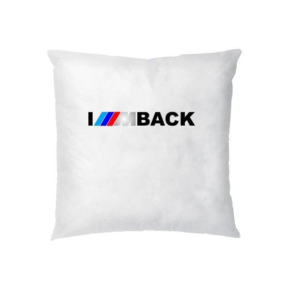 Подушка Bmw im back