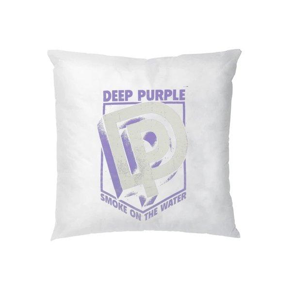 Подушка Deep Purple лого 3D