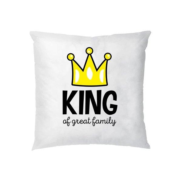 Подушка Король большой семьи