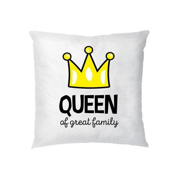 Подушка Королева большой семьи