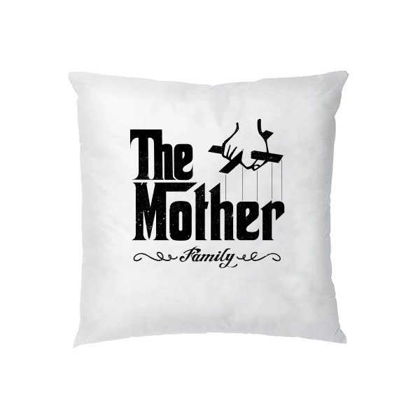 Подушка Мама главная в семье