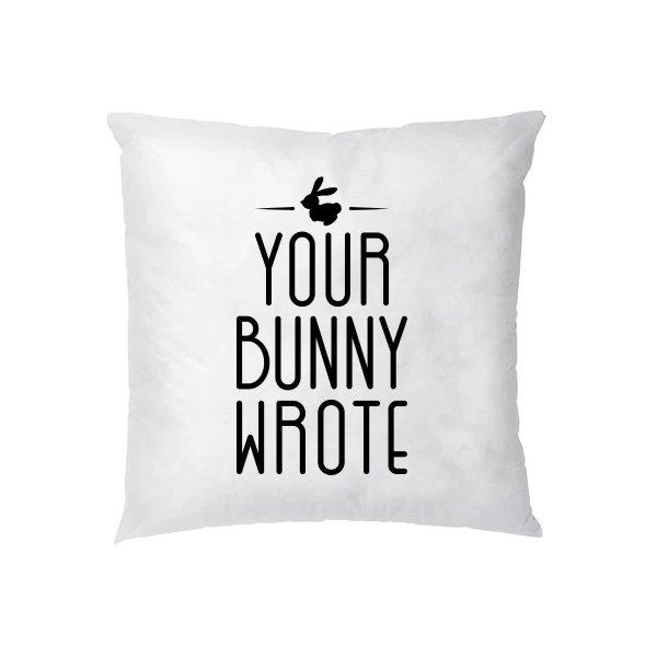 Подушка Ваш Кролик написал