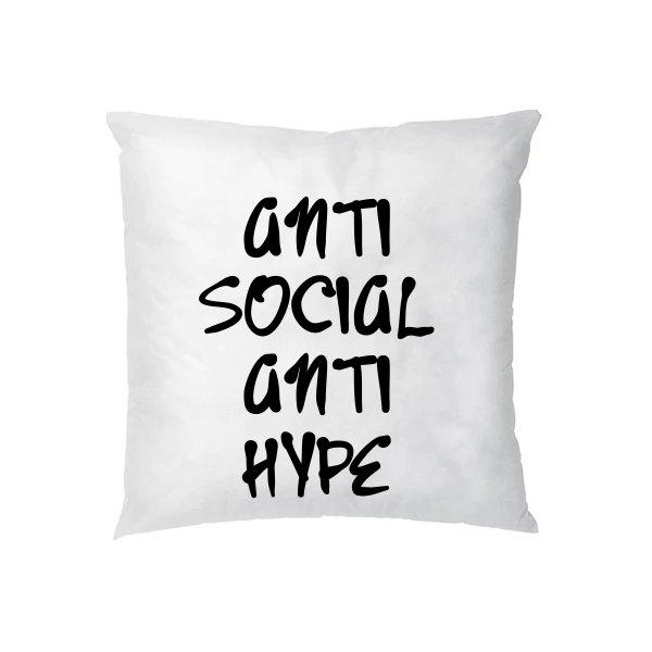 Подушка Anti Social Anti Hype