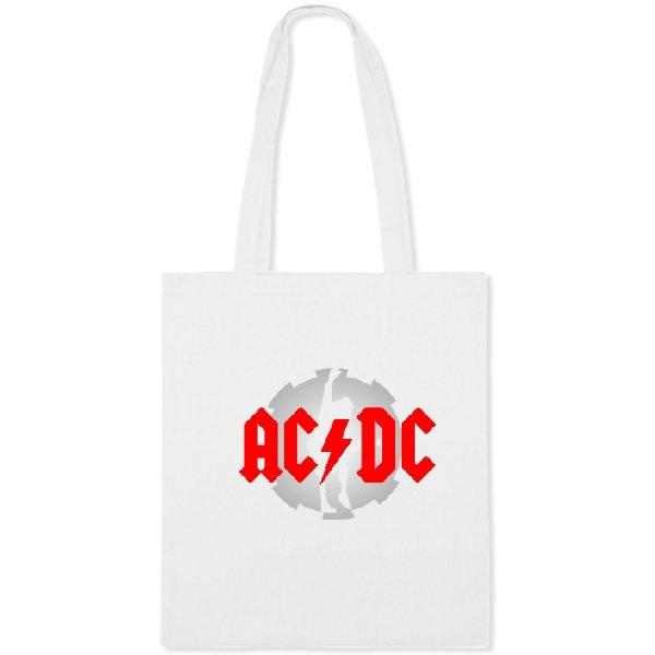 Сумка с логотипом AC DC