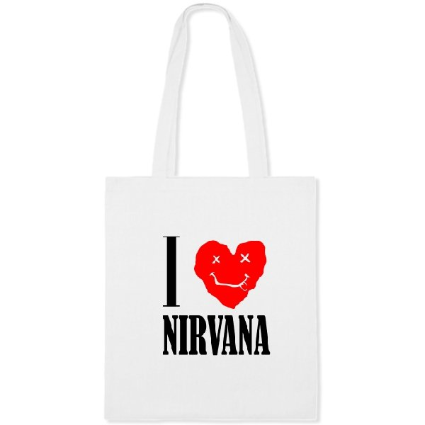Сумка I Love Nirvana